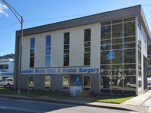 Exterior of our Kanawha City Mountain State Oral and Facial Surgery office