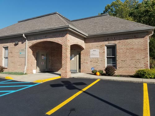 Exterior of our Teays Valley Mountain State Oral and Facial Surgery office